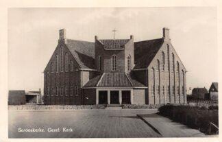 Ansichtkaart Serooskerke Gereformeerde Kerk Walcheren 1954 HC11821