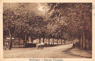 Ansichtkaart Groningen Noorder Plantsoen 1927 HC11834