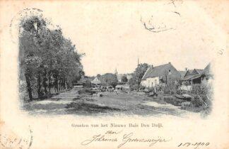 Ansichtkaart Wassenaar Groeten van het Nieuwe Huis Den Deijl 1900 HC11849