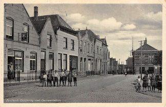 Ansichtkaart Zuidland Dorpsring met Gemeentehuis 1939 Voorne-Putten HC11861