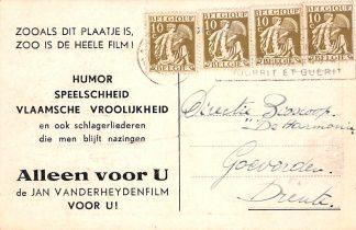 Ansichtkaart België Film Reclame Jan Vanderheydenfilm Europa HC11865