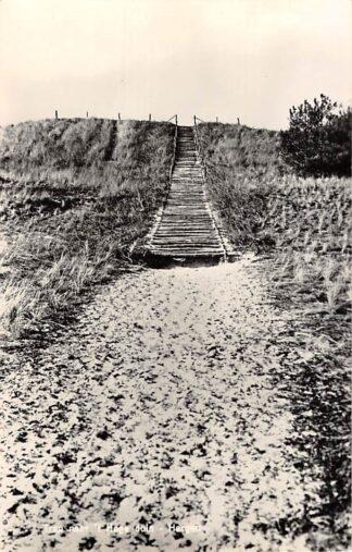 Ansichtkaart Hargen Trap naar 't Hoge Duin Groet (NH) 1960 HC11872