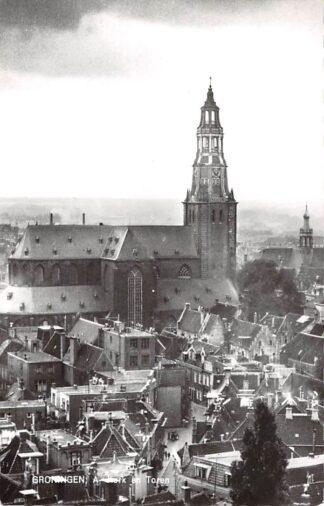 Ansichtkaart Groningen A-Kerk en Toren 1965 HC11936