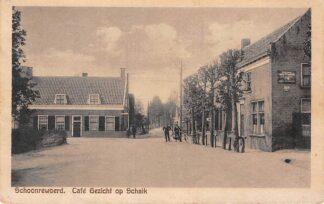 Ansichtkaart Schoonrewoerd Gezicht op Schaik 1926 HC11941