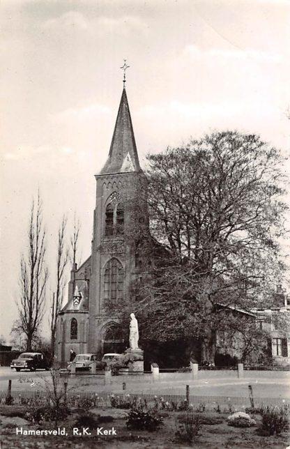 Ansichtkaart Hamersveld R.K. Kerk Leusden HC11943