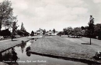 Ansichtkaart Boskoop Park met Rusthuis 1964 HC11953
