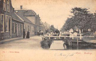 Ansichtkaart Boskoop Zijde Hondenkar 1904 HC11958