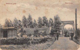 Ansichtkaart Stolwijk Beiersche Beiersche weg Halte Spoorlijn Gouda - Schoonhoven 1923 Tram Treinen Spoorwegen HC11961