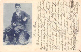 Ansichtkaart Fantasie Klederdracht Visser 1898 HC11964