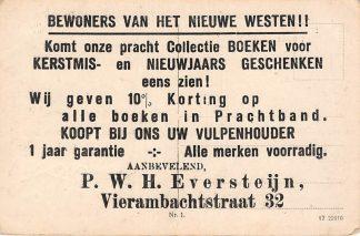 Ansichtkaart Polen Polska Zagan Sagan Totalansicht Rotterdam Reclame Kantoor boekhandel P.W.H. Eversteijn Vierambachtsstraat 32 Europa HC11968