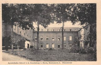 Ansichtkaart Schimmert Limburg Binnencour Apsotolische School v.h. Gezelschap v. Maria Nuth HC11973