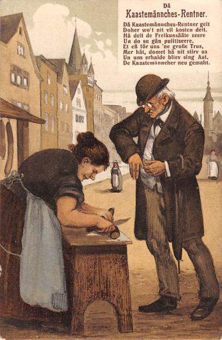 Ansichtkaart Duitsland Köln 1912 De Kaastemannches Humor Fantasie Deutschland Europa HC11985