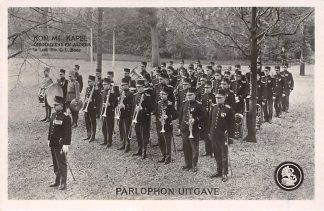 Ansichtkaart Assen Kon. Militaire Kapel Grenadiers en Jagers 1e Luit. Dir. C.L. Boer Militair Muziek HC12034