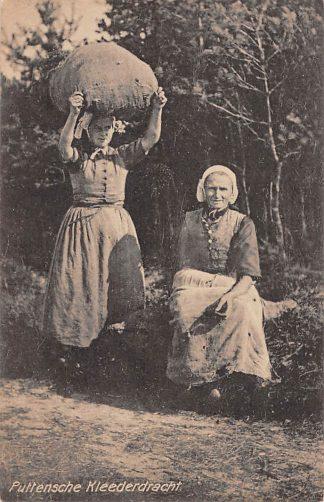 Ansichtkaart Putten Puttensche Klederdracht Boerinnen Veluwe HC12052