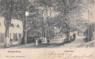 Ansichtkaart Numansdorp Fortlaan Hoeksche Waard 1904 HC12054