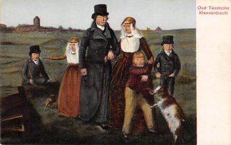 Ansichtkaart Oosterend Texel Oud Texelsche Klederdracht HC12075