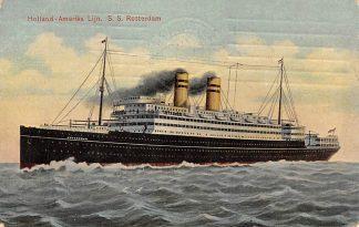 Ansichtkaart Rotterdam Holland America Line S.S. Rotterdam 4 1908 Scheepvaart Schepen HC12083