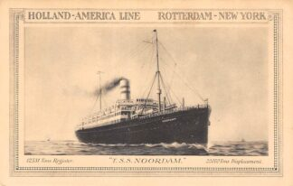 Ansichtkaart Rotterdam Holland America Line T.S.S. Noordam HC12088