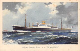 Ansichtkaart Rotterdam Holland America Line m.v. Noordam 2 Scheepvaart Schepen HC12090