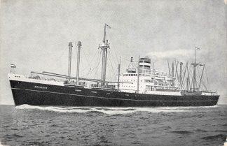 Ansichtkaart Rotterdam Holland America Line m.v. Schiedyk 2 Scheepvaart Schepen HC12091