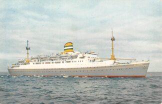 Ansichtkaart Rotterdam Holland America Line s.s. Maasdam 4 Scheepvaart Schepen HC12094