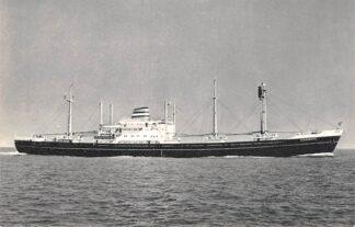 Ansichtkaart Rotterdam Holland America Line m.v. Kinderdyk 2 Scheepvaart Schepen HC12097