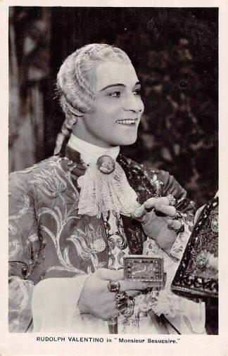 Ansichtkaart Film Filmster Rudolph Valentino in Monsieur Beaucaire Picturegoer Series N. 170 HC12125