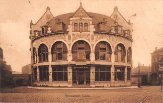 Ansichtkaart Rotterdam Hofplein Station Z.H.E.S.M. Spoorwegen Café Restaurant Loos HC12235