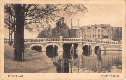 Ansichtkaart Rotterdam Noorderbrug Rotte 1918 Heineken Bier Fabriek HC12269