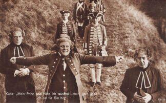 Ansichtkaart Film Filmster Aufnahme Karl Schenker aus der Film-Trilogie Fridericus Rex Ross verlag 651/8 HC12290