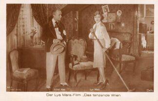 Ansichtkaart Film Filmster Alfred Abel Lya Mara Der Lya Mara-Film Das tanzende Wien Ross Verlag 82/2 Defu HC12297