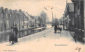 Ansichtkaart Gouda Karnemelksloot 1902 Vivat no. 4644 HC12396