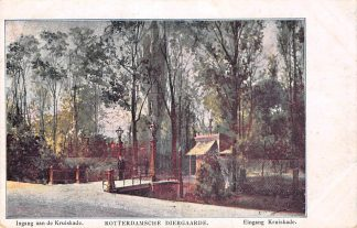 Ansichtkaart Rotterdam Diergaarde Ingang Kruiskade Zoo Dierentuin HC12453