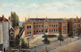 Ansichtkaart Rotterdam West Kruiskade R.K. Weeshuis 1906 HC12458