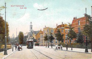 Ansichtkaart Rotterdam Oude Dijk 1908 RETM Tram 62 Lijn 1 HC12532
