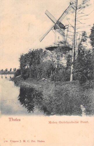 Ansichtkaart Tholen Molen Oudelandsche Poort voor 1906 HC12556