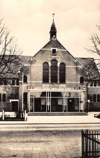 Ansichtkaart Nijverdal Gereformeerde Kerk 1960 HC12558