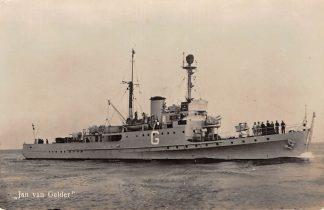 Ansichtkaart Marine Jan van Gelder Scheepvaart Schepen HC12569