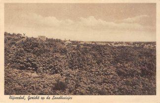 Ansichtkaart Nijverdal Gezicht op de Landhuisjes 1938 HC12589