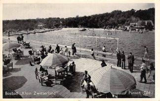 Ansichtkaart Putten Bosbad Klein Zwitserland Zwembad 1959 HC12591