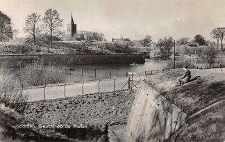 Ansichtkaart Naarden Gezicht op de Wallen 1940 HC12596
