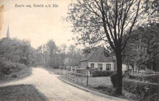 Ansichtkaart Katwijk aan den Rijn Zwarte weg HC12600