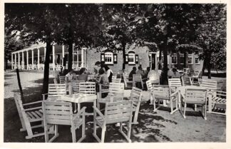 Ansichtkaart Renswoude Café Restaurant De Hof C. Bos 1960 HC12617
