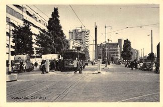 Ansichtkaart Rotterdam Coolsingel RETM Tram auto HC12633