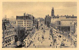Ansichtkaart Rotterdam Coolsingel Bouw Beurs RETM Tram HC12640