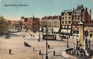 Ansichtkaart Rotterdam Boymansplein RETM Tram Monument HC12650