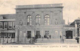 Ansichtkaart Rotterdam Coolsingel Schouwburg aan den Coolsingel (afgebroken in 1887) HC12651