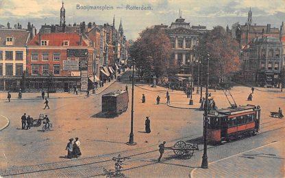 Ansichtkaart Rotterdam Boymansplein RETM Tram HC12658