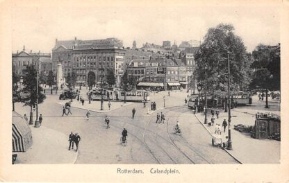 Ansichtkaart Rotterdam Calandplein Passage RETM Tram HC12661