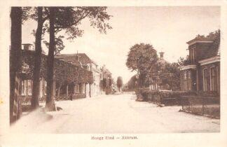 Ansichtkaart Akkrum Hooge Eind 1919 Heerenveen HC12743